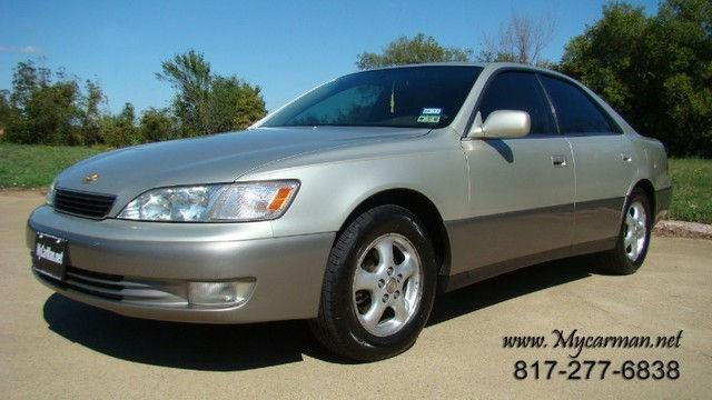 1998 lexus es 300 for sale in arlington texas classified. Black Bedroom Furniture Sets. Home Design Ideas