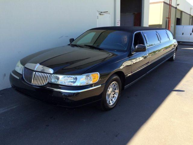 1998 Lincoln Town Car 120 Stretch Limousine For Sale In San Diego