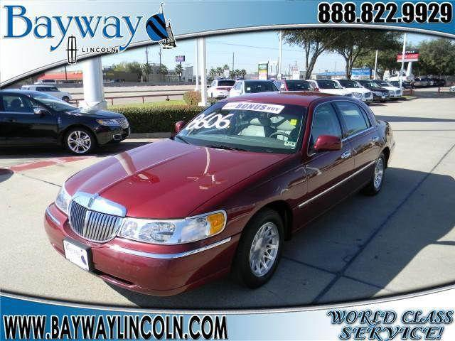 1998 lincoln town car cartier for sale in houston texas classified. Black Bedroom Furniture Sets. Home Design Ideas
