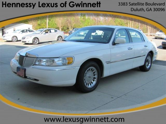 1998 lincoln town car cartier for sale in duluth georgia classified. Black Bedroom Furniture Sets. Home Design Ideas