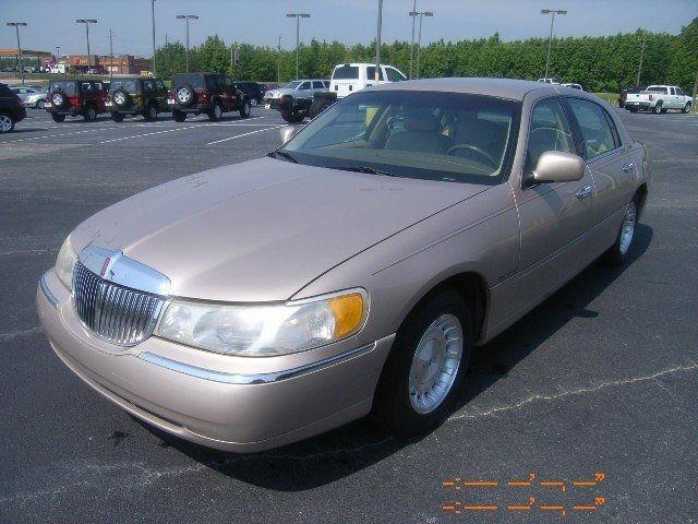 1998 lincoln town car executive for sale in thomson georgia classified. Black Bedroom Furniture Sets. Home Design Ideas