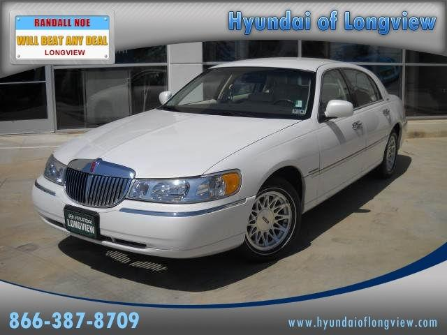 1998 Lincoln Town Car Signature For Sale In Longview Texas