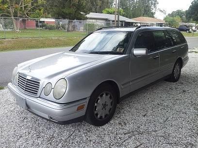 1998 mercedes benz e 320 v6 station wagon silver for sale for 1998 mercedes benz e class wagon