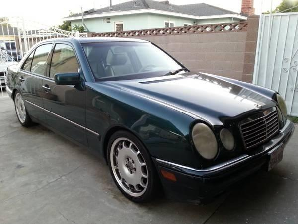 1998 mercedes benz e320 clean title 18 mbz rims for Mercedes benz rims for sale