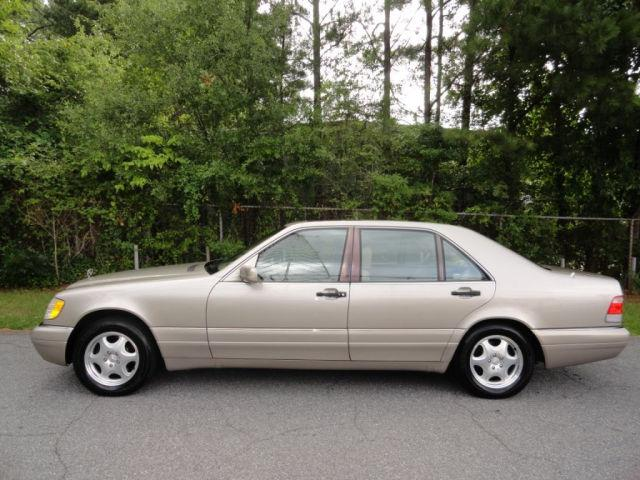 1998 mercedes benz s class s320 for sale in mableton