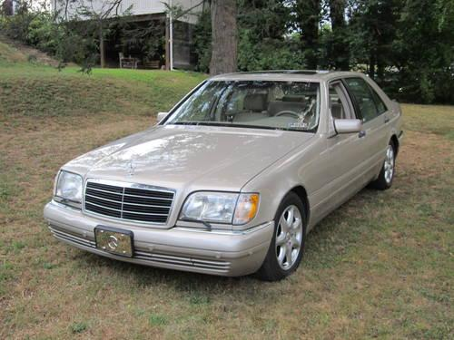 1998 mercedes benz s320 for sale in broomall pennsylvania