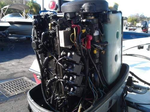 1998 Mercury 115 hp outboard 20 inch exc cond, with all controls
