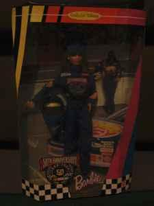1998 NASCAR Barbie 50th Anniversary - $25 (Jonesboro,