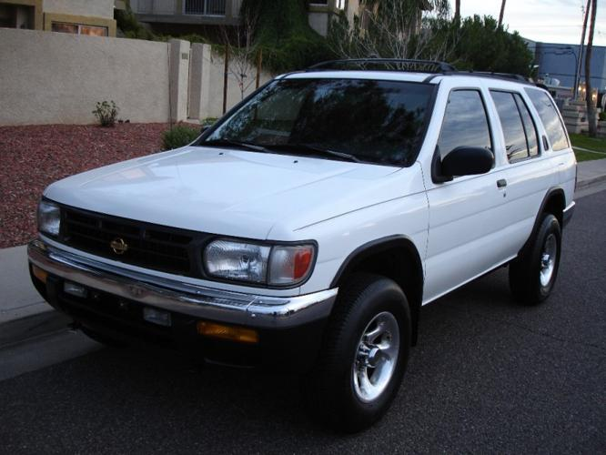 1998 nissan pathfinder se 4x4 clean carfax immaculate for sale in phoenix arizona. Black Bedroom Furniture Sets. Home Design Ideas