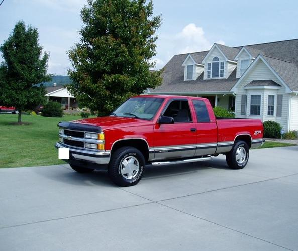 1998 Silverado Extended Cab Pickup 3-Door For Sale In
