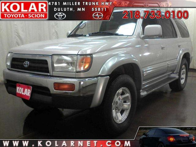 1998 toyota 4runner limited for sale in duluth minnesota classified. Black Bedroom Furniture Sets. Home Design Ideas