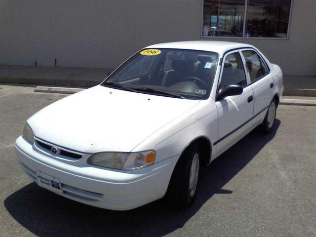 1998 toyota corolla ce for sale in marble falls texas classified. Black Bedroom Furniture Sets. Home Design Ideas