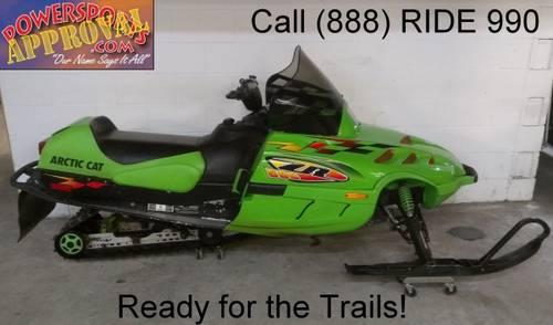 1998 used Arctic Cat Snowmobile ZR600 SE for sale with only 535 miles