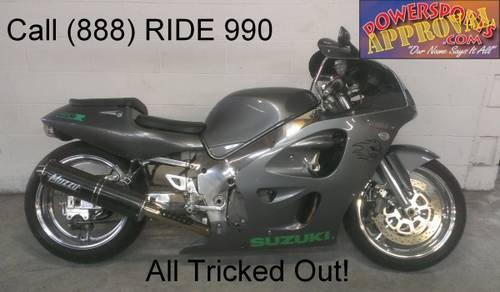 1998 used suzuki gsxr600 crotch rocket for sale only nice cle for sale in sandusky michigan. Black Bedroom Furniture Sets. Home Design Ideas