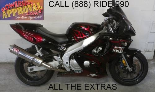1998 used yamaha yzf600r crotch rocket for sale u1648 for sale in sandusky michigan. Black Bedroom Furniture Sets. Home Design Ideas