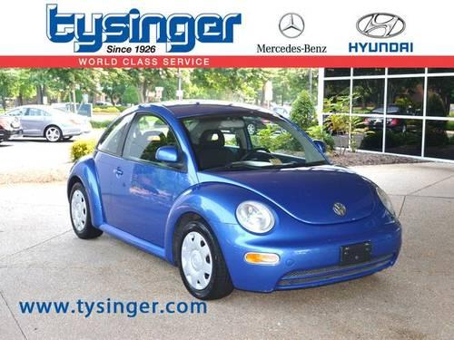 1998 volkswagen beetle 2d hatchback base for sale in Tysinger motor company