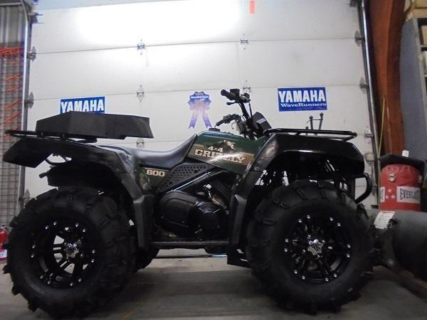 1998 yamaha grizzly 600 4x4 atv for sale u2433 for sale in sandusky michigan classified. Black Bedroom Furniture Sets. Home Design Ideas
