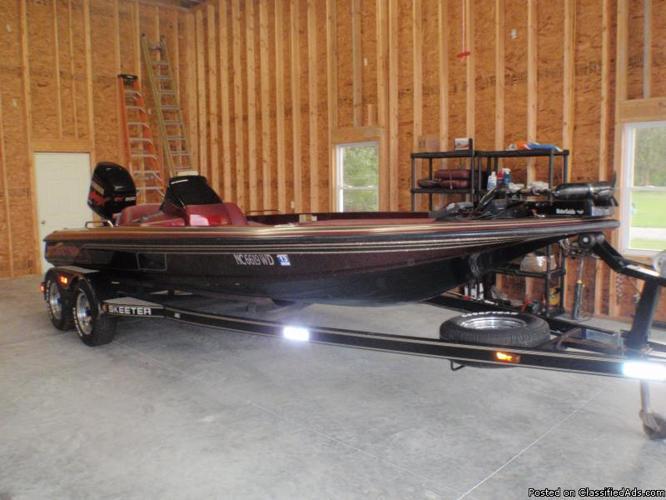 1998 ZX 202C Skeeter Bass Boat for Sale in Macclesfield ...