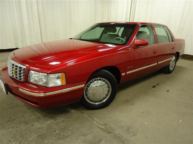 1998 cadillac deville d 39 elegance for sale in fairmont. Black Bedroom Furniture Sets. Home Design Ideas