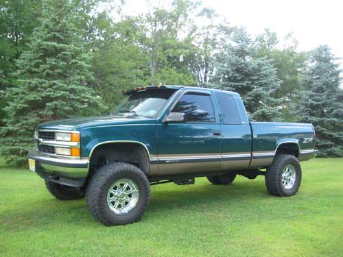 details for 1998 chevy silverado k1500 z71 extended cab 3 door 4x4