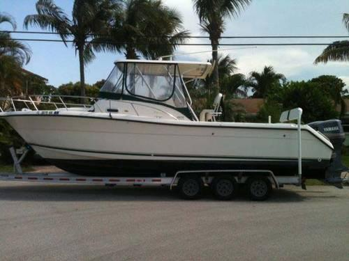 1999 29 Pursuit Offshore Cuddy For Sale In West Palm