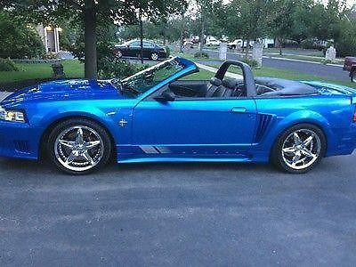 1999 atlantic blue s281 mustang saleen convertible for sale in bartlett illinois classified. Black Bedroom Furniture Sets. Home Design Ideas