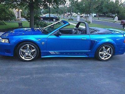 1999 Atlantic Blue S281 Mustang Saleen Convertible For