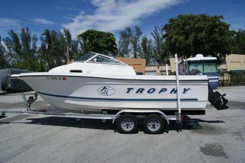 1999 Bayliner Boats 2002 Trophy 21 Ft 7 In For Sale