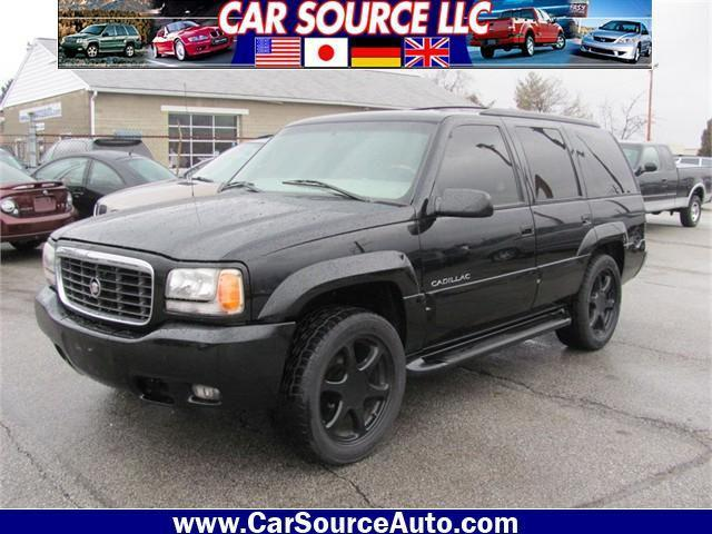 1999 cadillac escalade 4wd for sale in grove city ohio classified. Black Bedroom Furniture Sets. Home Design Ideas