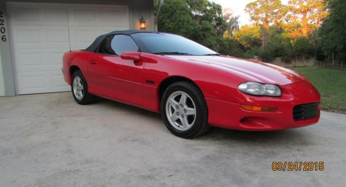 1999 Camaroe Z28 For Sale In Sarasota Florida Classified
