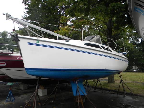 1999 Catalina 250 Wing Keel Model Sailboat For Sale In