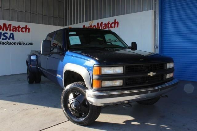 1999 Chevrolet C/K 3500 Crew Cab Dually, Upgraded Wheels, Leather
