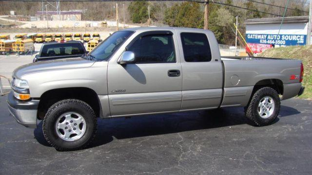 1999 chevrolet silverado lt z71 extended cab 4x4 low miles very nice for sale in antonia. Black Bedroom Furniture Sets. Home Design Ideas