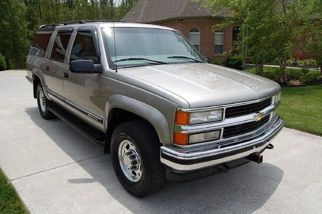 1999 chevrolet suburban 2500 lt for sale in knoxville. Black Bedroom Furniture Sets. Home Design Ideas
