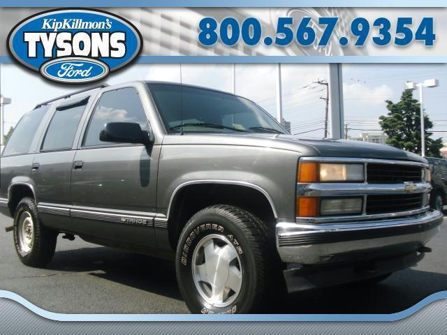 1999 chevrolet tahoe for sale in vienna virginia classified. Black Bedroom Furniture Sets. Home Design Ideas