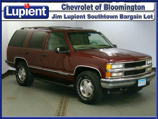 1999 chevrolet tahoe for sale in bloomington minnesota classified. Black Bedroom Furniture Sets. Home Design Ideas