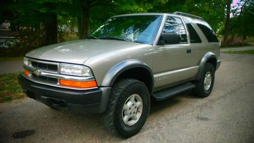 1999 chevy blazer zr2 4x4 sunroof 90 day warranty for sale in new carlisle ohio classified. Black Bedroom Furniture Sets. Home Design Ideas