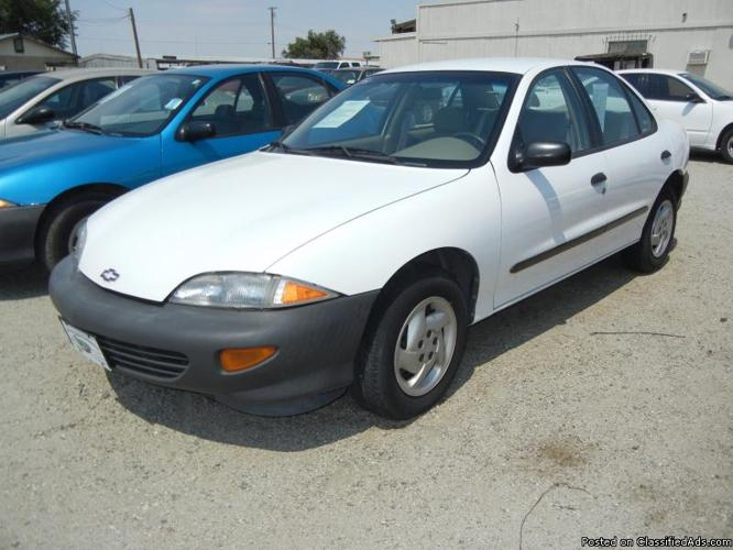 1999 CHEVY CAVALIER 84K MILES for Sale in Hi Vista ...