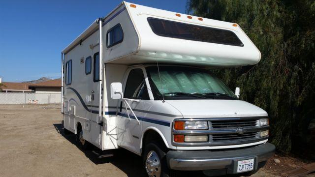 Lazy Daze Rv >> 1999 Chevy Class C Motorhome 22ft for Sale in Lakeview, California Classified | AmericanListed.com