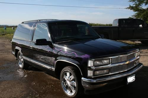 2 door 2wd tahoe for sale 1999 autos post. Black Bedroom Furniture Sets. Home Design Ideas