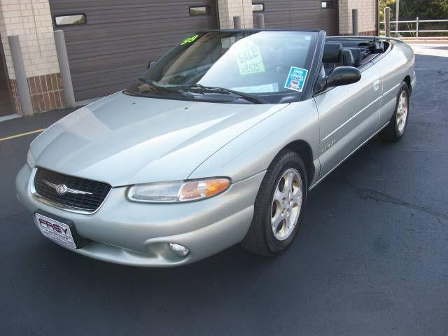 1999 chrysler sebring jxi for sale in muskego wisconsin. Black Bedroom Furniture Sets. Home Design Ideas