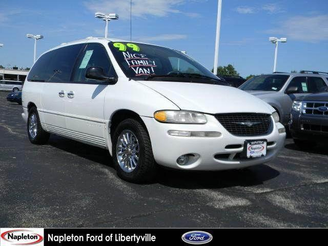 1999 chrysler town country limited for sale in libertyville illinois classified. Black Bedroom Furniture Sets. Home Design Ideas
