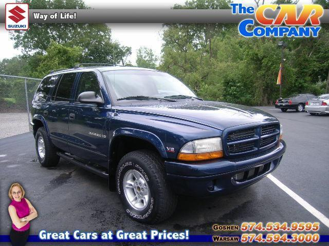 1999 dodge durango base for sale in warsaw indiana. Black Bedroom Furniture Sets. Home Design Ideas
