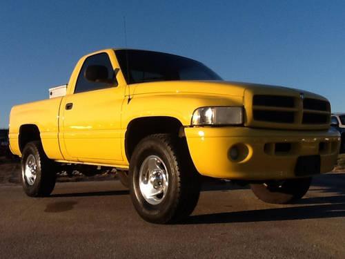 1999 dodge ram reg 4wd auto pickup truck for sale in cartersburg indiana classified. Black Bedroom Furniture Sets. Home Design Ideas