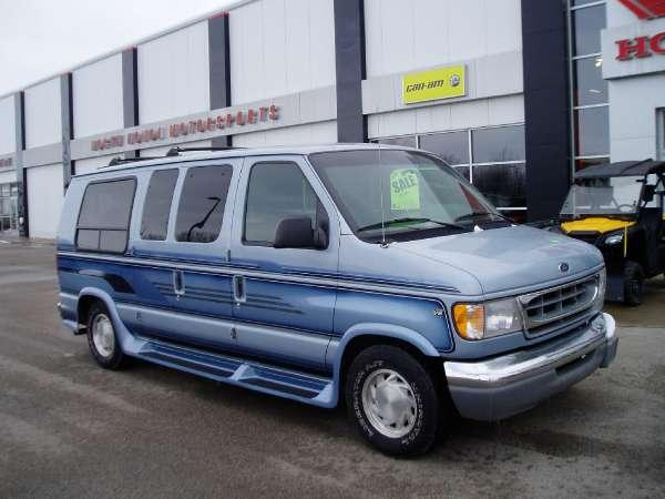 1999 ford e150 conversion van for sale in menominee michigan