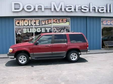 1999 Ford Explorer Suv For Sale In Somerset Kentucky
