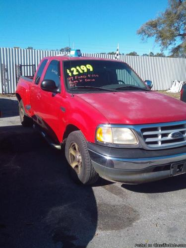 1999 ford f 150 for sale in tallahassee florida classified. Black Bedroom Furniture Sets. Home Design Ideas