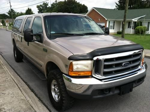 1999 ford f 250 4x4 crew cab 7 3 liter diesel for sale in chattanooga tennessee classified. Black Bedroom Furniture Sets. Home Design Ideas