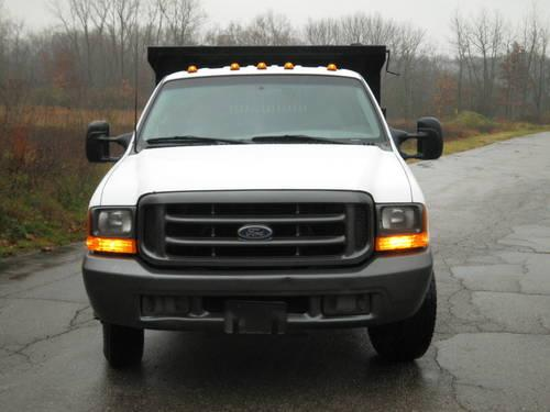 1999 ford f 350 superduty power stroke diesel crewcab dump trucks for sale in kalamazoo. Black Bedroom Furniture Sets. Home Design Ideas