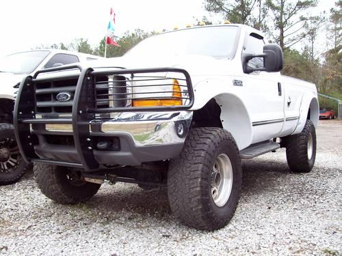 1999 ford f250 reg cab lariat 7 3 powerstroke 4x4 lifted for sale in lake view alabama. Black Bedroom Furniture Sets. Home Design Ideas